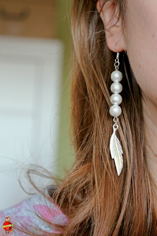 "earring ""Feathers"""