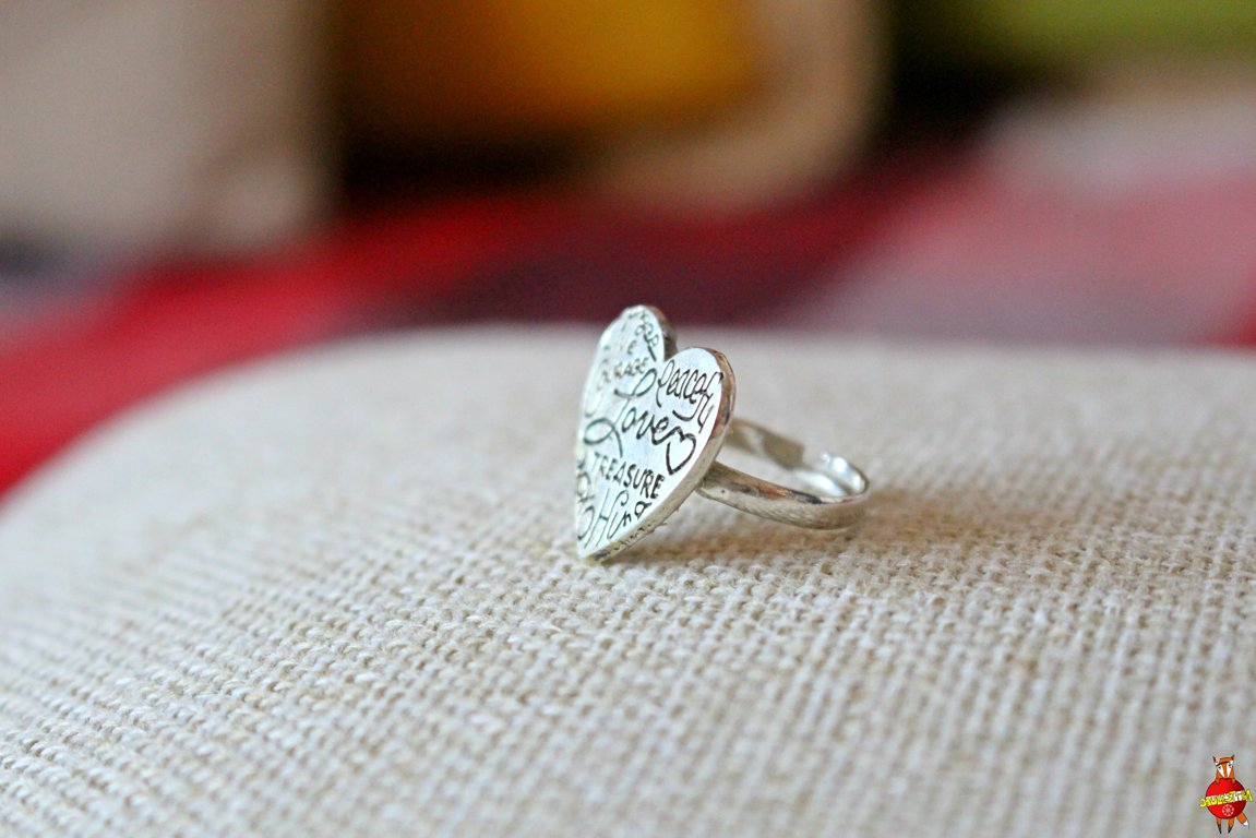 "ring ""From heart"""