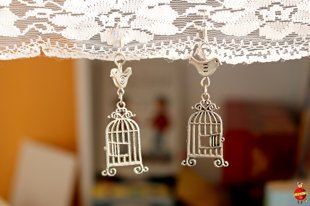 "earrings ""Free bird"""