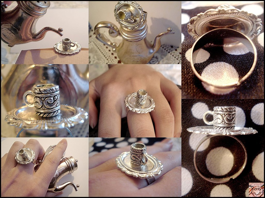 "ring ""Tea time"""