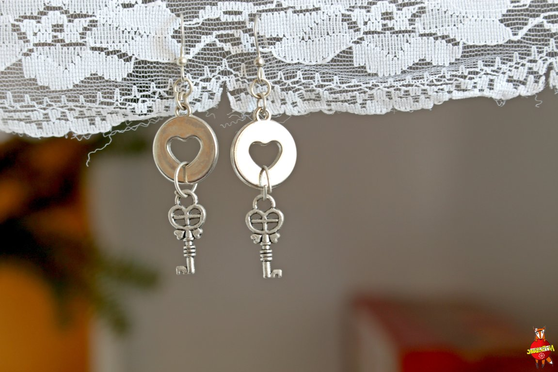 "earrings ""Love secret"""