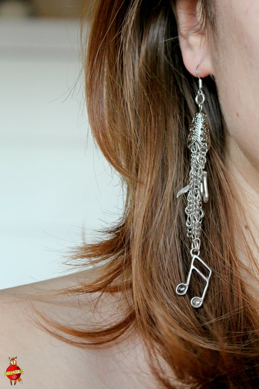 "earrings ""Musical"""