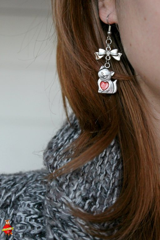 "earrings ""Kitty"""