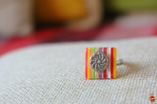 "ring ""Striped mood"""